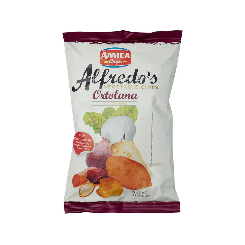 AMICA Alfredo's Ortolana Salted Vegetables Chips  (100g)