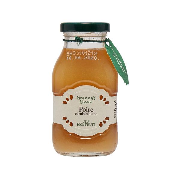 GRANNY'S SECRET Pear & White Grape Juice  (200mL)