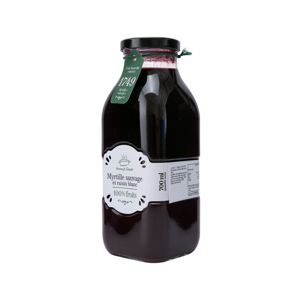 Granny's Secret Wild Blueberry & White Grape Juice(700mL)