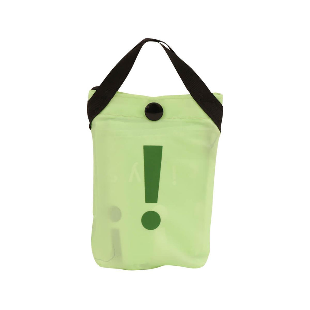 city'super !2Color Environmental Pocketable Bag -Apple Green