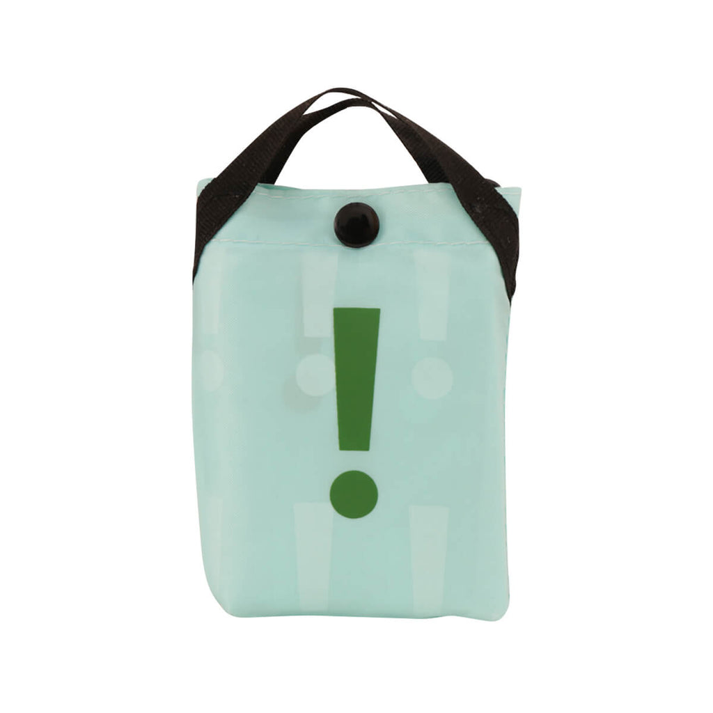 CITYSUPER !2Color Environmental Pocketable Bag -Aqua