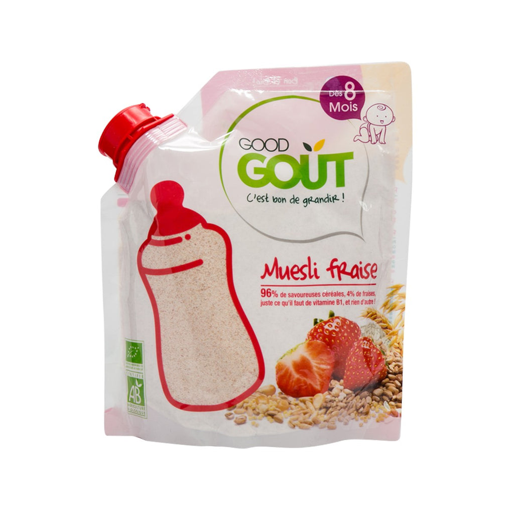 GOOD GOUT Organic Baby Cereal - Strawberry Muesli  (200g)
