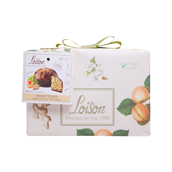 LOISON Apricot & Ginger Panettone  (500g)