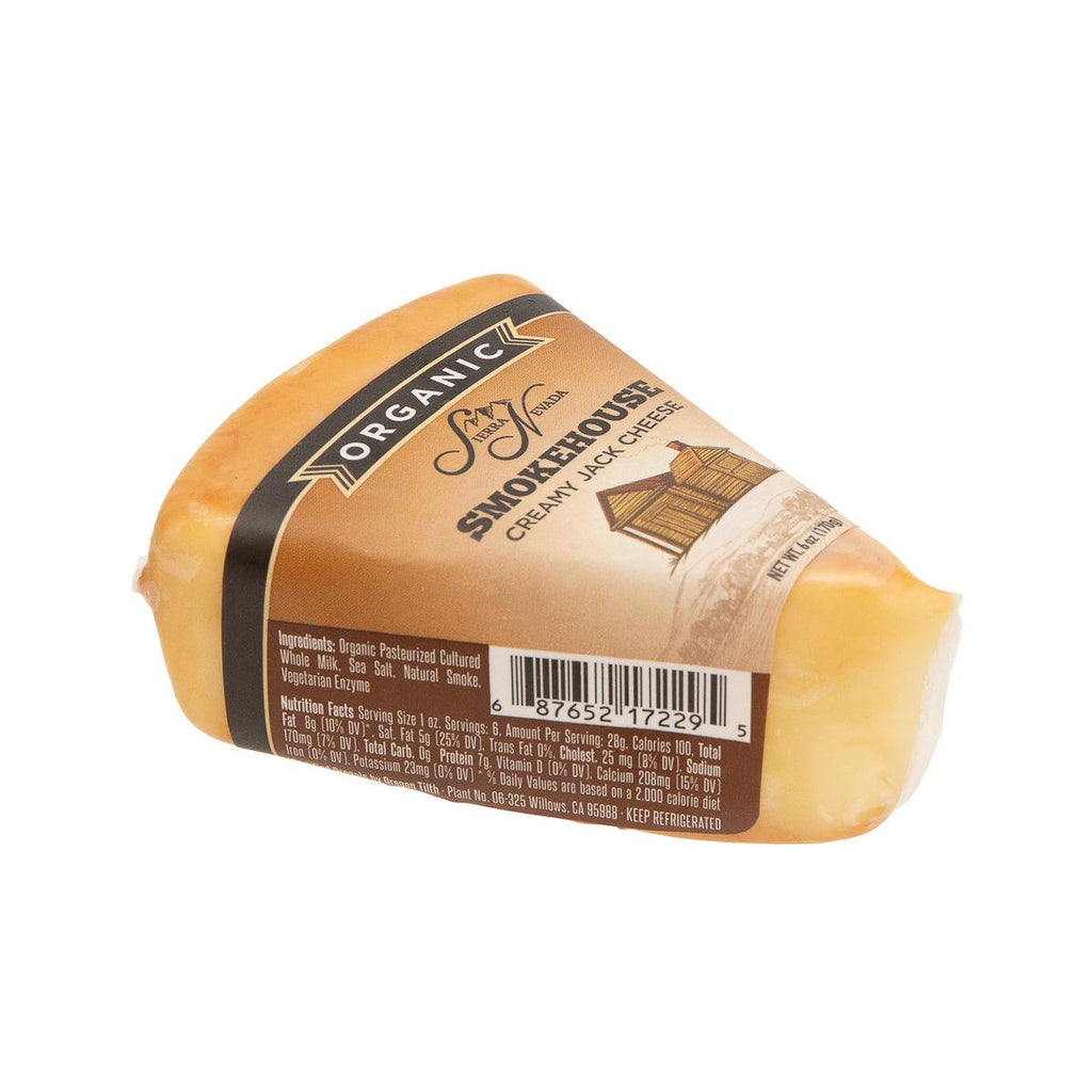 SIERRA NEVADA Organic Creamy Jack Cheese - Smokehouse  (170g)