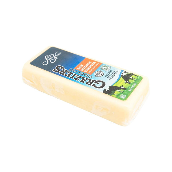 SIERRA NEVADA Graziers Raw Medium Cheddar Cheese  (225g)