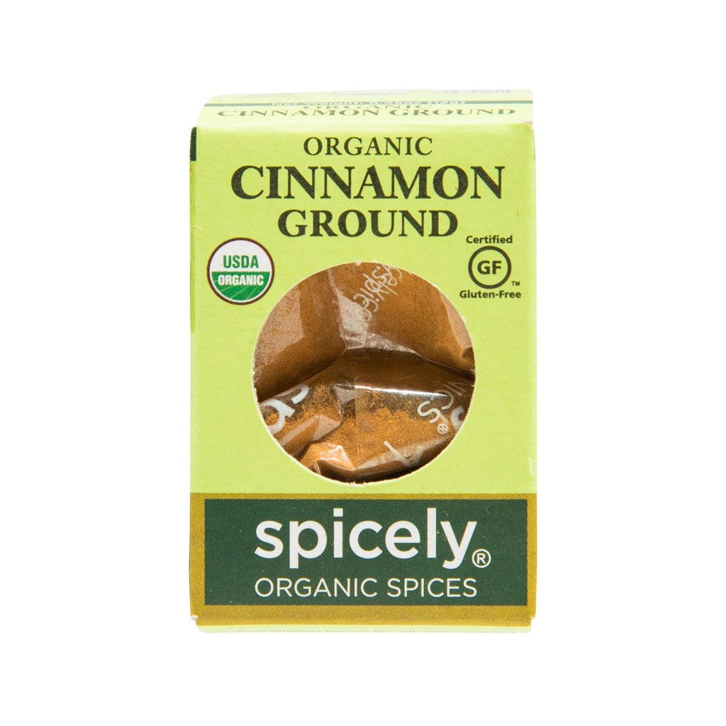 SPICELY Organic Cinnamon - Ground  (12g)