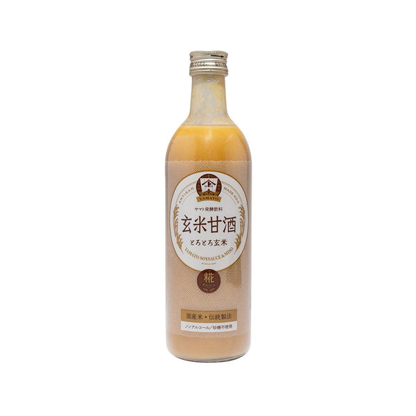 YAMATO Brown Rice Amazake Drink (Non-alcoholic) (490mL)