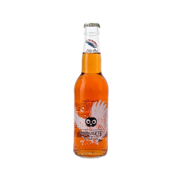 LA CHOUETTE The French Cider - Rosé (Alc. 4.5%)  (330mL)