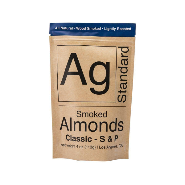 AG STANDARD Smoked Salt & Pepper Almonds  (113g)