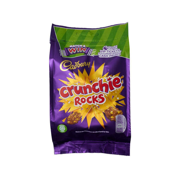 CADBURY Crunchie Rocks Milk Chocolate  (110g)