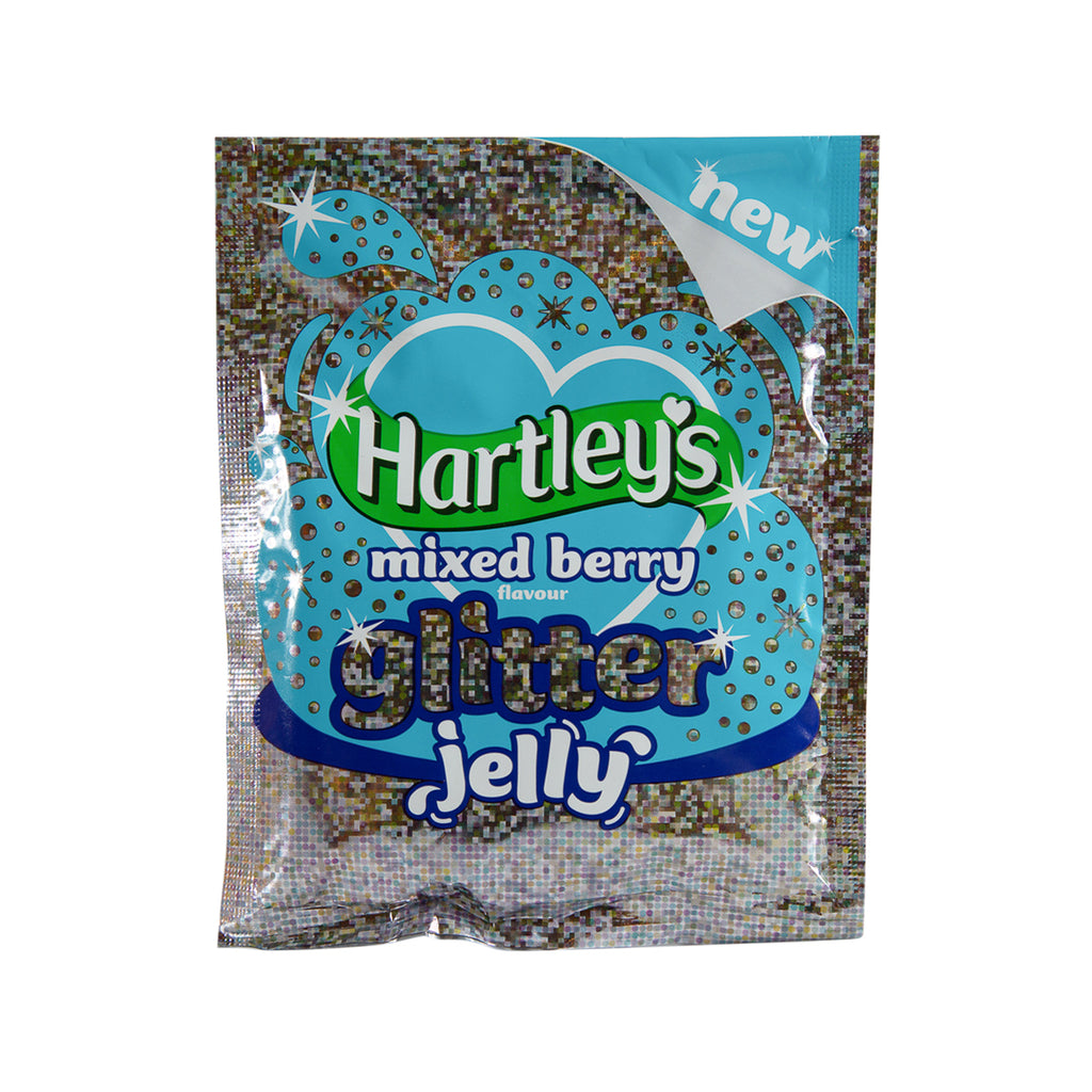 HARTLEY'S Glitter Jelly - Mixed Berry Flavour  (100g)