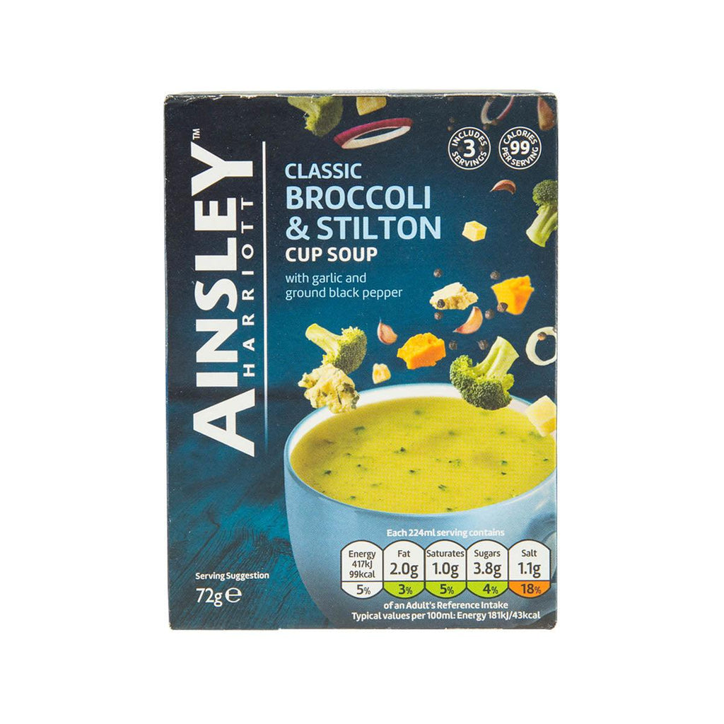 AINSLEY HARRIOTT Broccoli & Stilton Cup Soup  (72g)