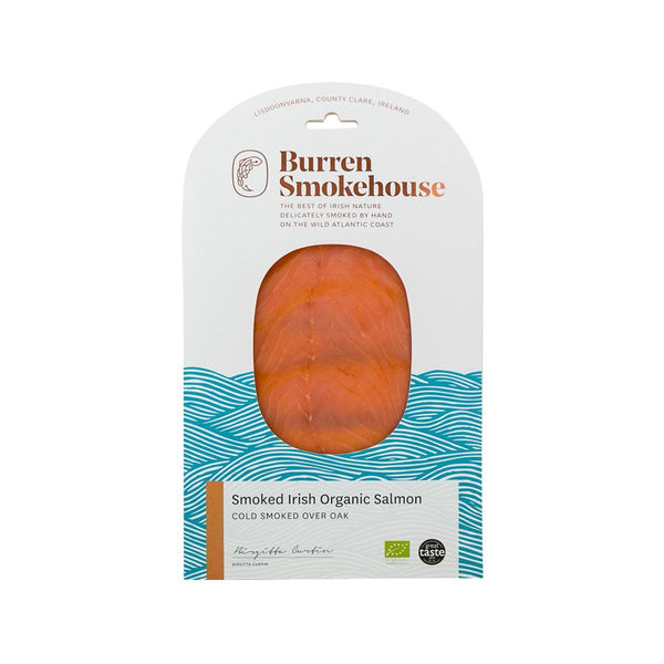 BURREN SMOKEHOUSE Cold Smoked Irish Organic Salmon  (90g)