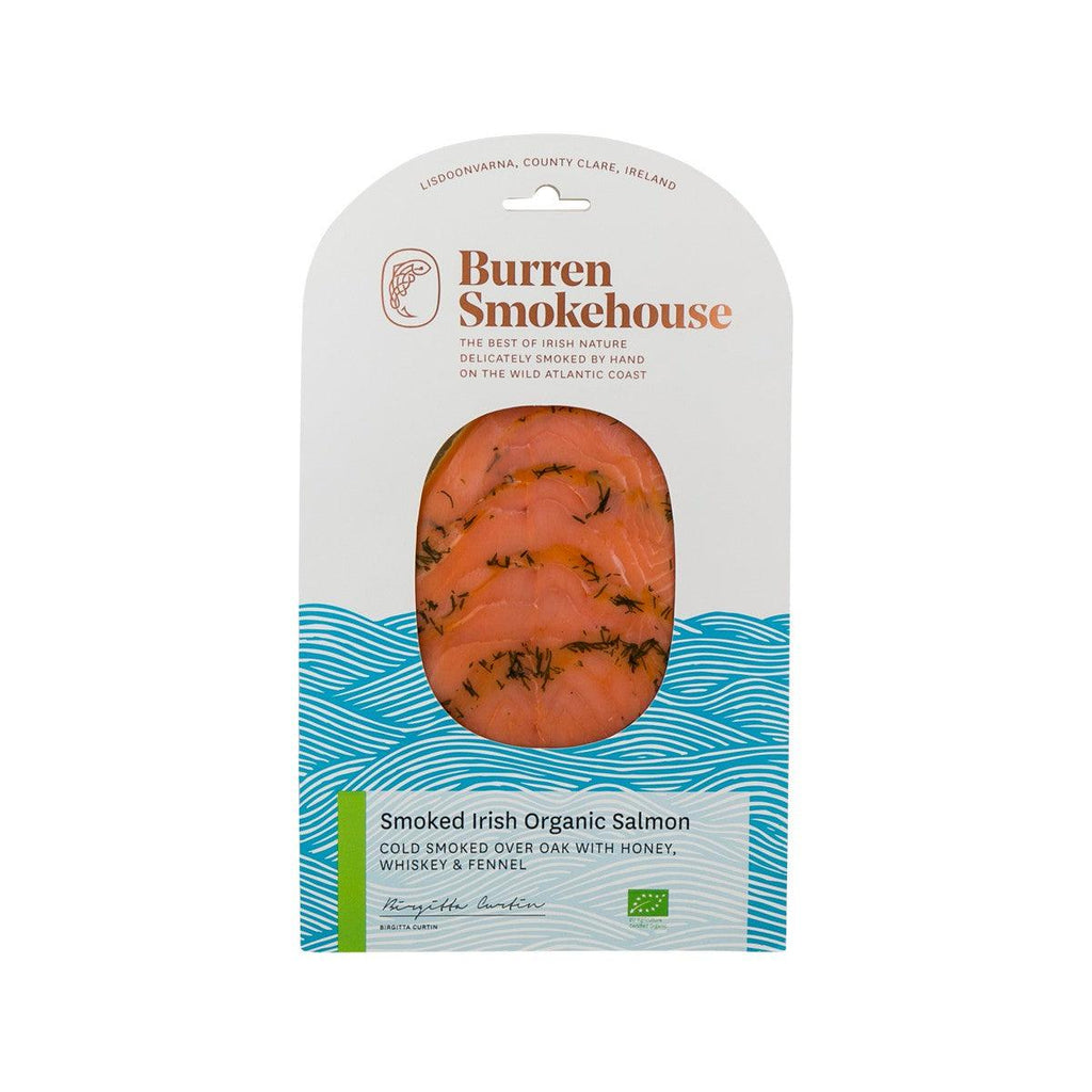Burren Smokehouse Cold Smoked Irish Organic Salmon With Honey, Whiskey & Fennel 100G(100g)