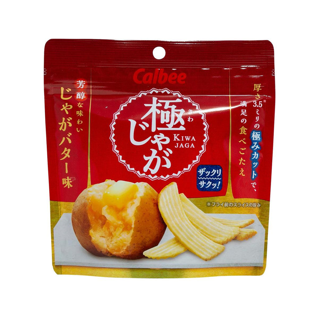 CALBEE Kiwa Jaga Potato Snack - Potato Butter  (40g)