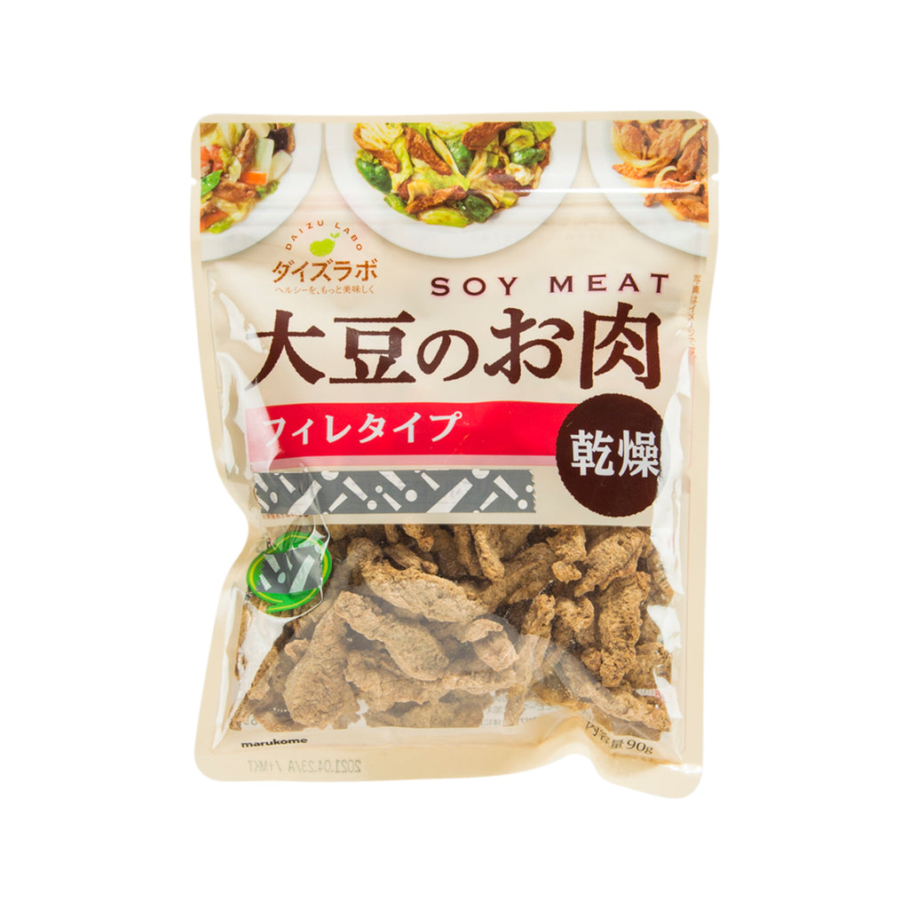 MARUKOME Daizu Labo Dried Soy Meat - Fillet  (90g)