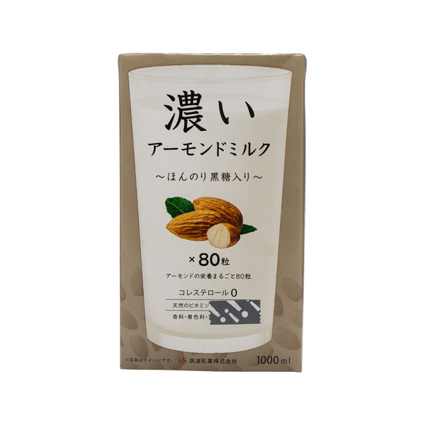 TSUKUBA Rich Almond Milk - Brown Sugar  (1L)