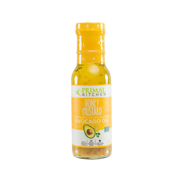PRIMAL KITCHEN Honey Mustard Dressing & Marinade Made with Avocado Oil  (237mL)