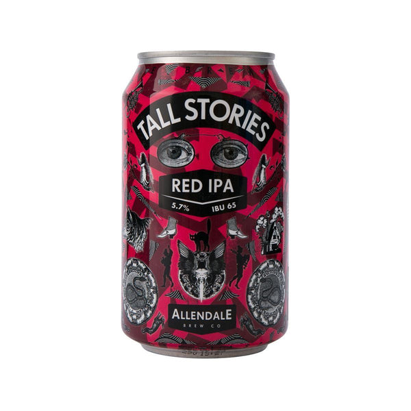 ALLENDALE BREWERY Tall Stories Red IPA Beer (Alc 5.7%)  (330mL)
