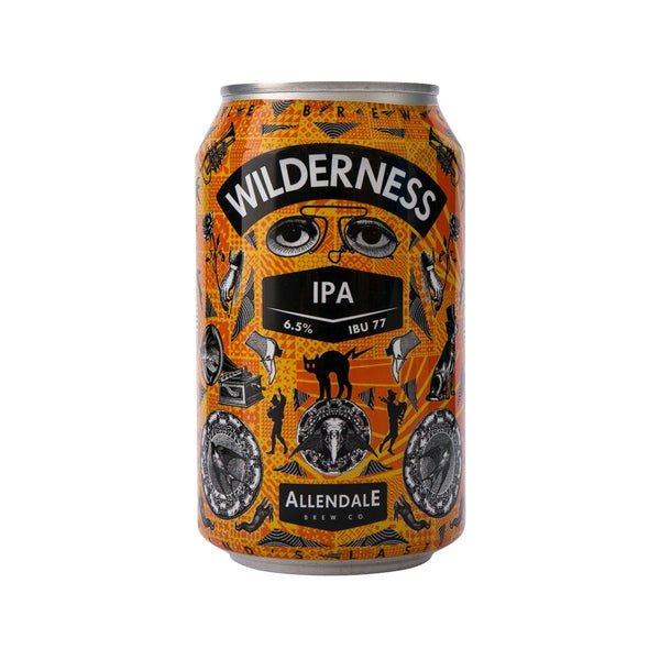 ALLENDALE BREWERY Wilderness IPA Beer (Alc 6.5%)  (330mL)