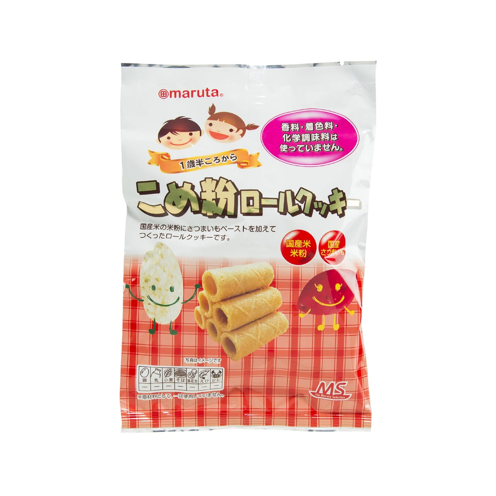 MARUTA Baby Rice Roll  (10pcs)