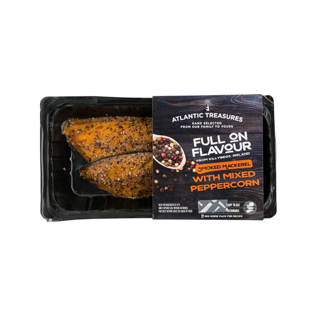Atlantic Treasures Smoked Mackerel - Mixed Peppercorn(170g)