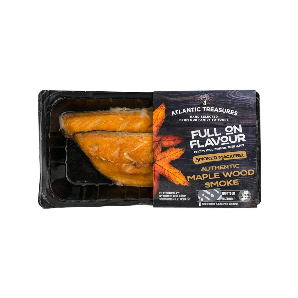 ATLANTIC TREASURES Smoked Mackerel - Authentic Maple Wood Smoked  (170g)
