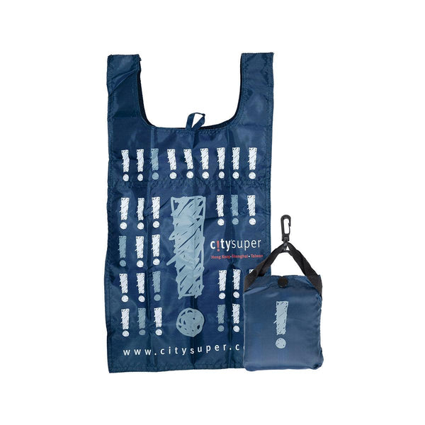 CITYSUPER Sketch Pattern Environmental Pocketable Bag - Navy