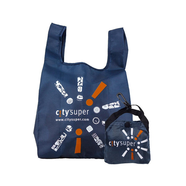 CITYSUPER Small Environmental Pocketable Bag -Navy