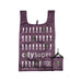 CITYSUPER !2Color Environmental Pocketable Bag -Deep Purple