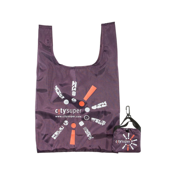 CITYSUPER Small Environmental Pocketable Bag -Deep Purple