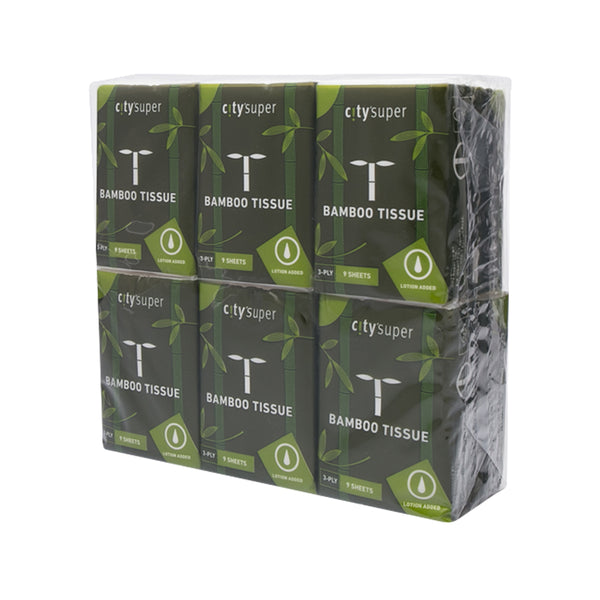 city'super Bamboo Pulp Pocket Lotion Tissue (12 packs)