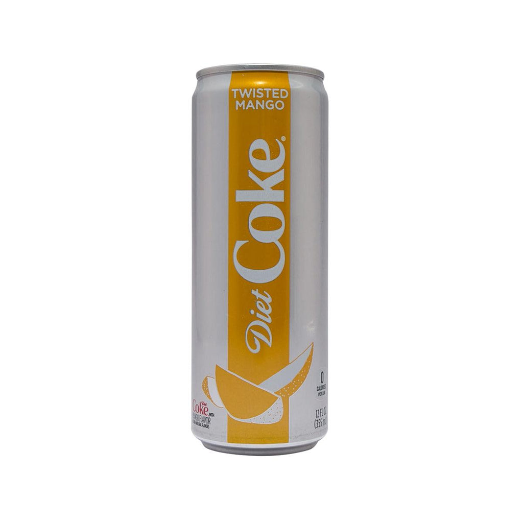 COCA COLA Diet Coke With Twisted Mango - USA (355mL)