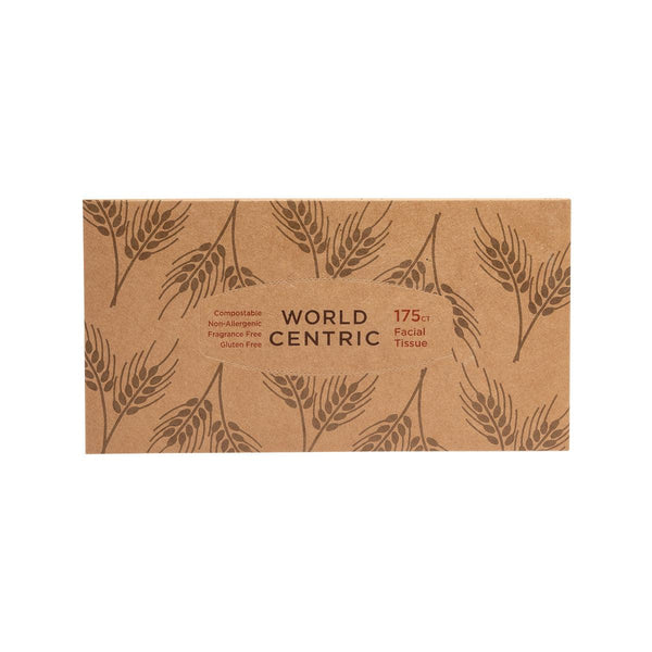 WORLD CENTRIC Wheat Straw Facial Tissue