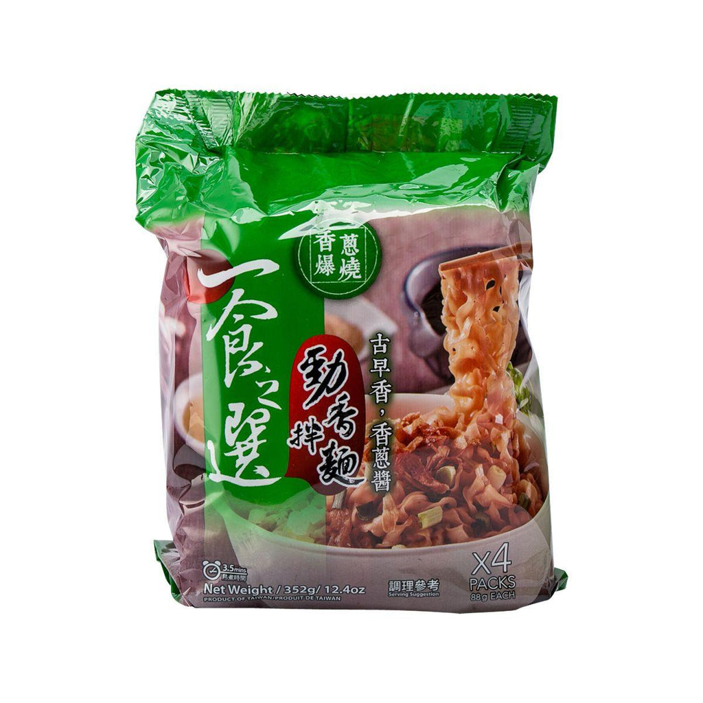Acechoice Dried Noodle - Fried Scallion Flavor(4 x 88g)
