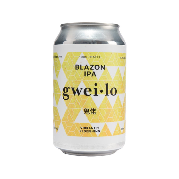 Gwei Lo Blazon Ipa Beer (CAN) (Alc6%) (330mL)