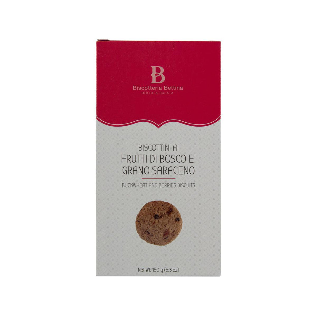 BISCOTTERIA BETTINA Buckwheat and Berries Biscuits  (150g)