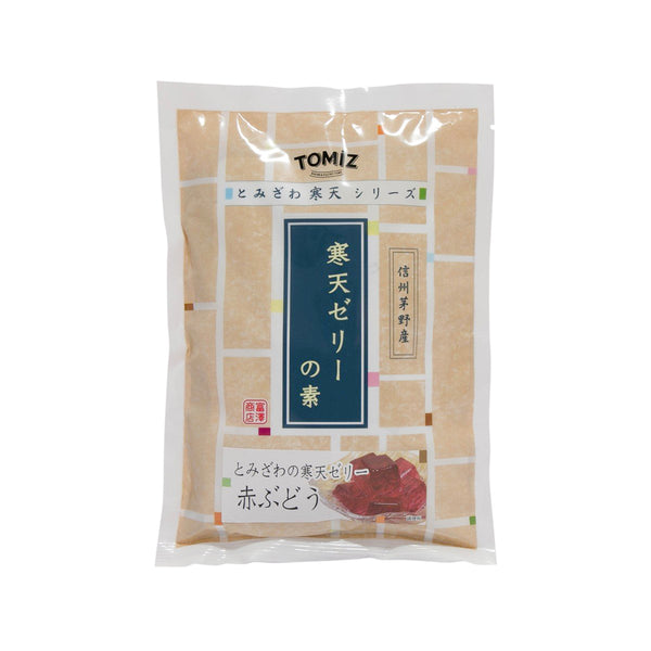 TOMIZAWA Agar Jelly Mix - Red Grape Flavor  (250g)