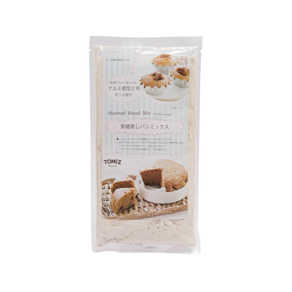 TOMIZAWA Steamed Bread Mix with Brown Sugar  (200g)