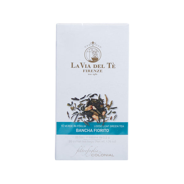LA VIA DEL TE Bancha Fiorito Green Tea Bag  (50g)