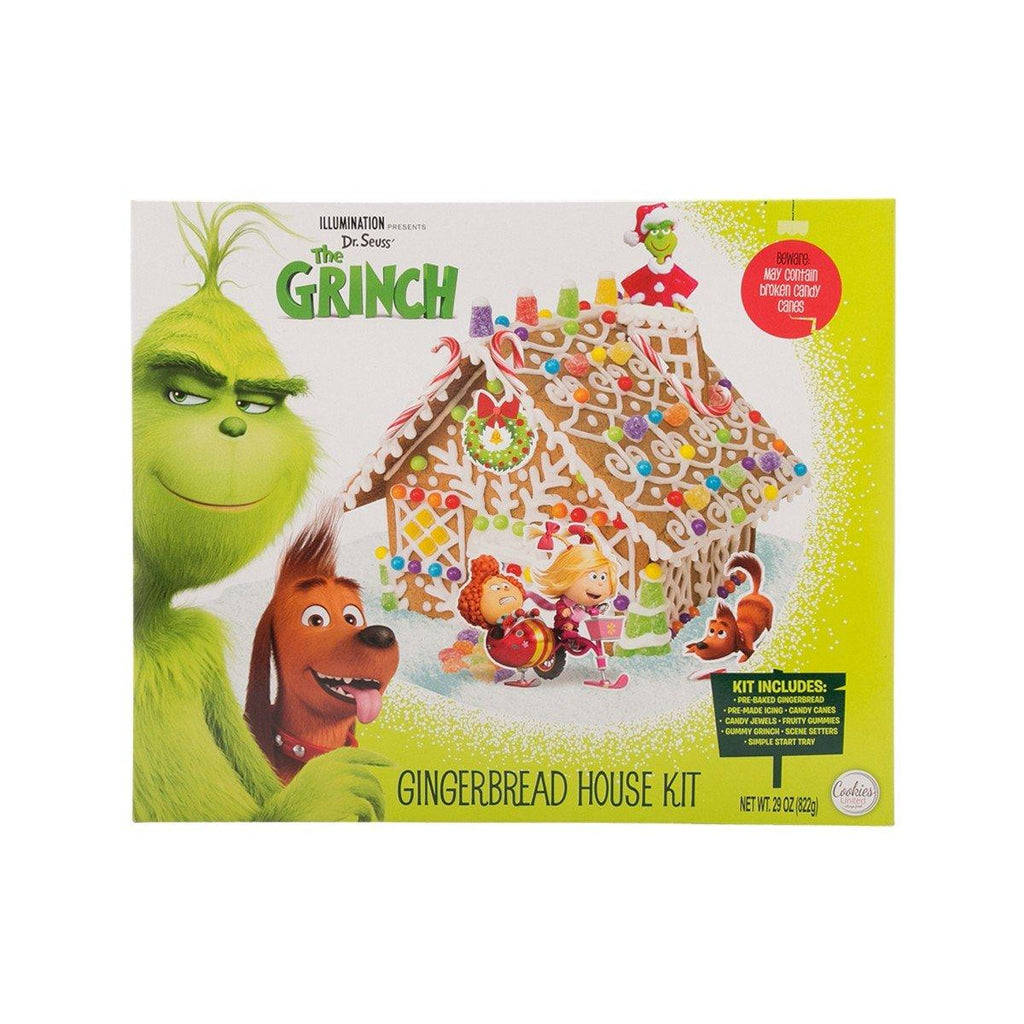 COOKIES UNITED The Grinch Gingerbread House Kit (822g)