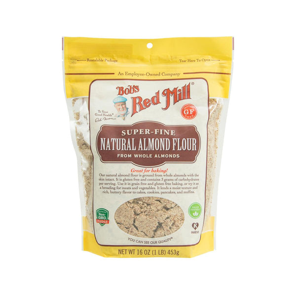 BOB'S RED MILL Gluten Free Super-Fine Natural Almond Flour  (453g)