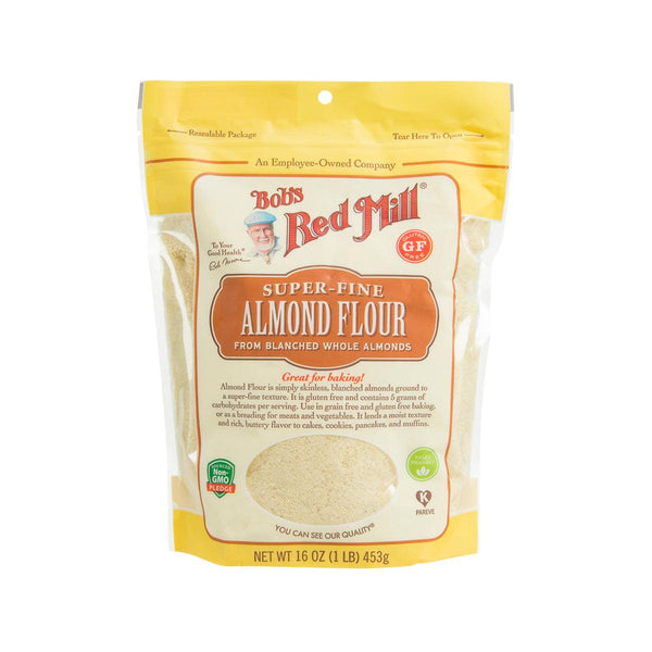 BOB'S RED MILL Gluten Free Super-fine Blanched Almond Flour  (453g)