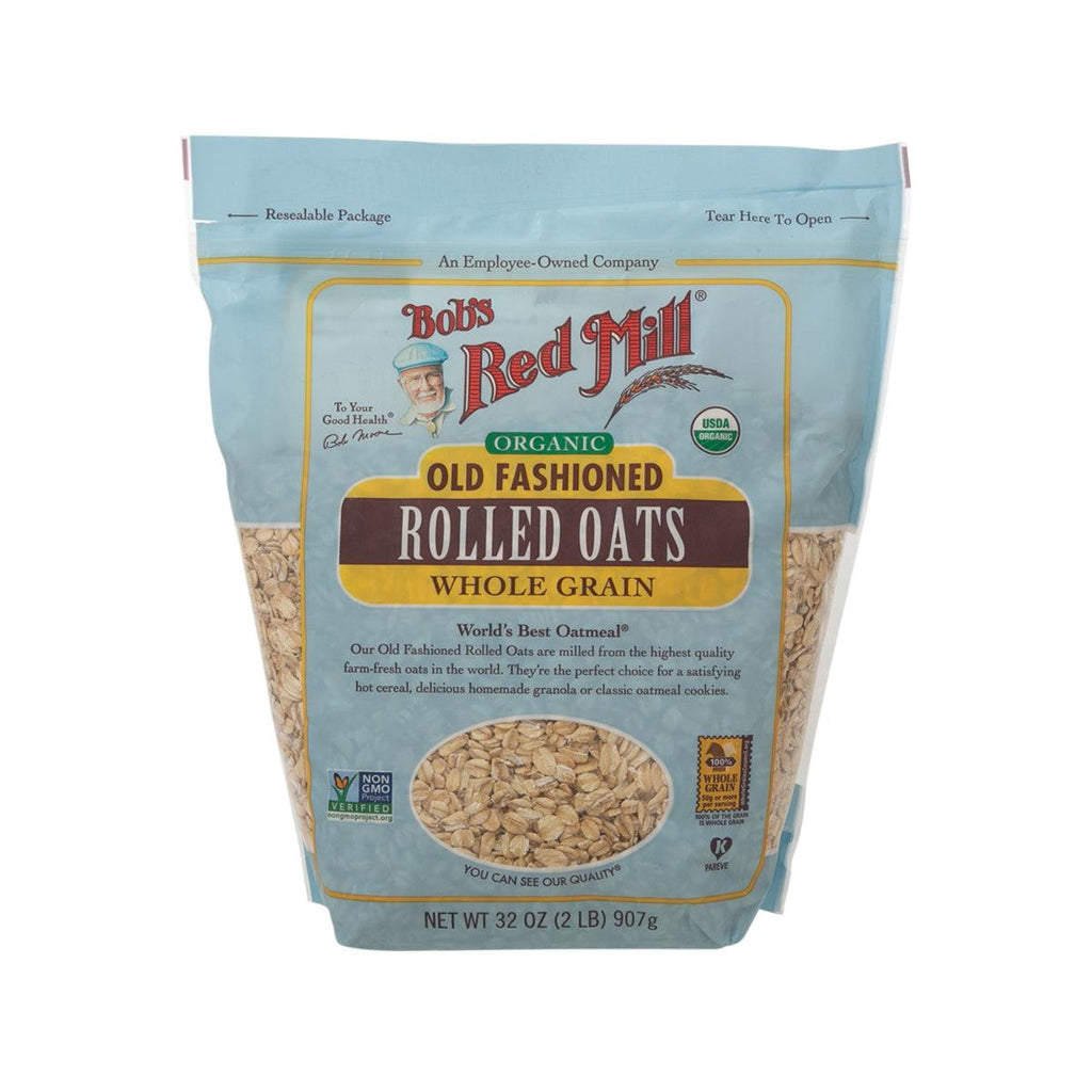 BOB'S RED MILL Organic Old Fashion Rolled Oats  (907g)