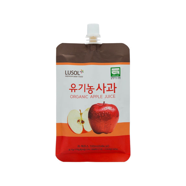 LUSOL Organic Farm Juice - Organic Apple  (100mL)