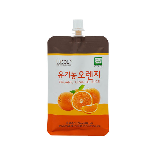 LUSOL Organic Farm Juice - Organic Orange  (100mL)