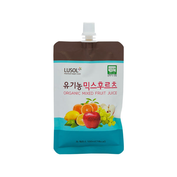 LUSOL Organic Farm Juice - Organic Mixed Fruits  (100mL)