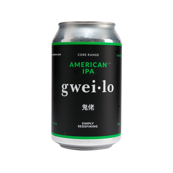 GWEI LO American IPA [Can] (Alc 6%)  (330mL)