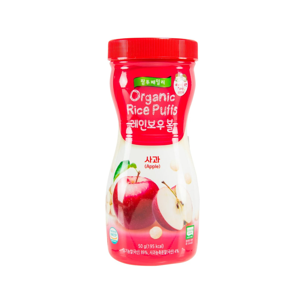 FARMTOFAMILY Organic Rice Snack - Apple [From 6 Months]  (50g)