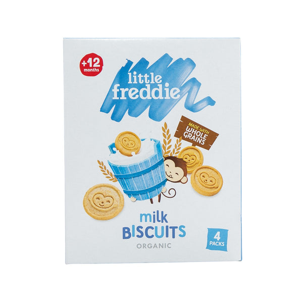 LITTLE FREDDIE Organic Milk Biscuits (12+ Months)  (80g)